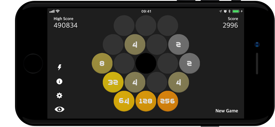 Screenshot of x2048